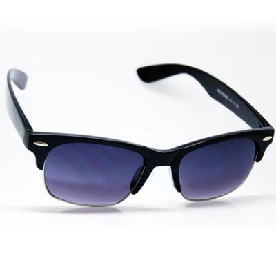 Retro okuliare Waymaster čierne tónované sklá