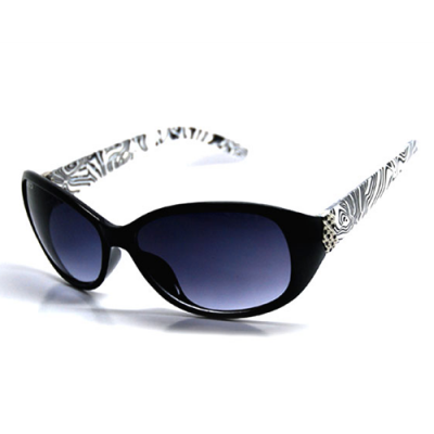 Dámske slnečné okuliare Sapphire čierne