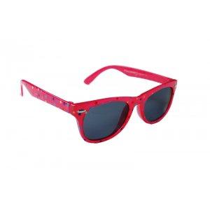 Detské polarizačné okuliare Stars - Fuchsia