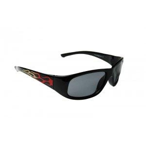 Detské polarizačné okuliare Flame - Black