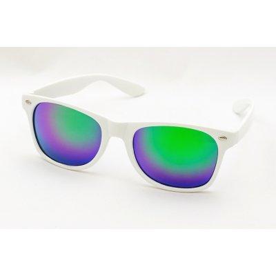 Slnečné okuliare Wayfarer - biele BLUE
