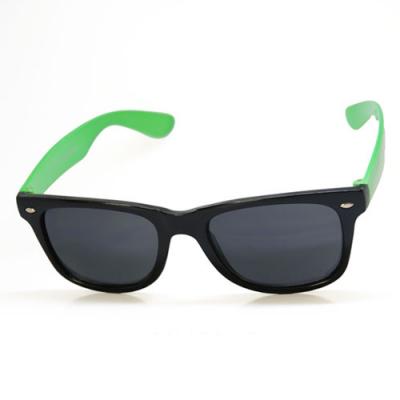 Slnečné okuliare Wayfarer - zelená-čierna