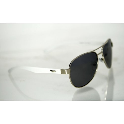 Slnečné okuliare pilotky FLY strieborné 63966ec5821
