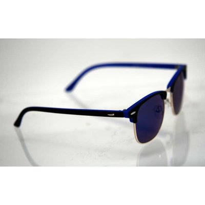 Slnečné okuliare Clubmaster DOUBLE modré