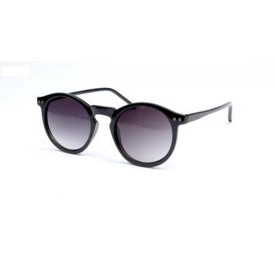 Slnečné okuliare Round Keyhole Dark