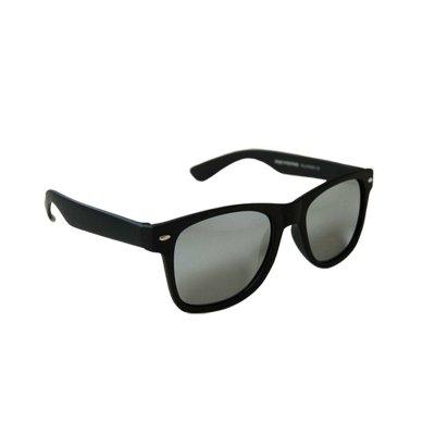 Polarizačné slnečné okuliare Wayfarer čierne matné SIlver