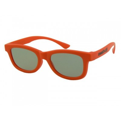 3D okuliare oranžové