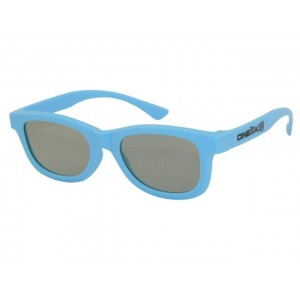 3D okuliare svetlo modré
