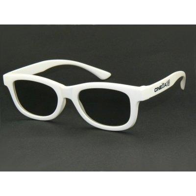 3D okuliare biele