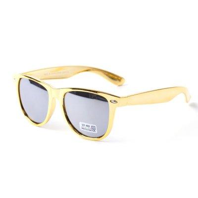 Slnečné okuliare Wayfarer Bling Zlaté