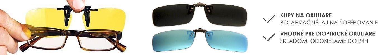 Klipy na okuliare