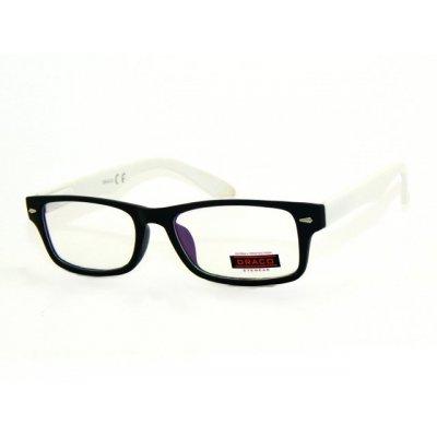 Číre antireflexné okuliare SMART BLACK&WHITE