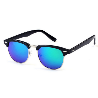 Okuliare Clubmaster Blue-Green čierne