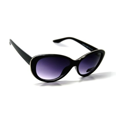 Dámske slnečné okuliare Sixty čierne