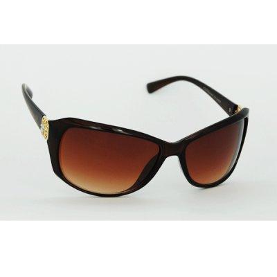 Dámske slnečné okuliare Jewel hnedé