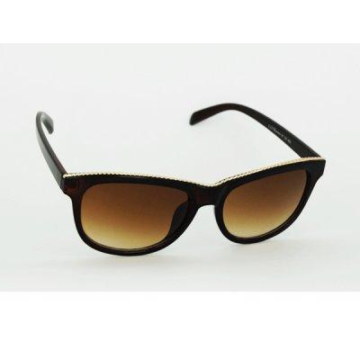 Dámske slnečné okuliare Teep hnedé