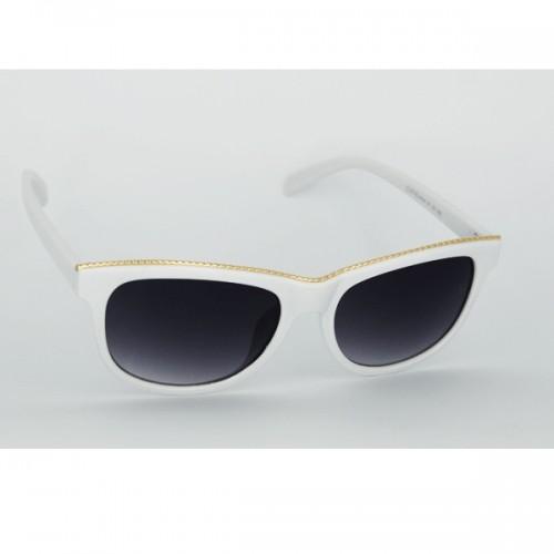 7bc89889b Dámske slnečné okuliare Teep biele