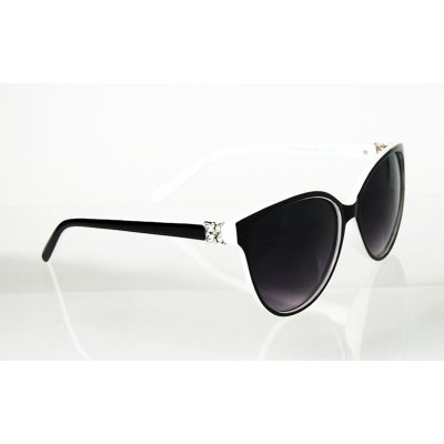 Dámske okuliare Diamonds Butterfly BLACK&WHITE