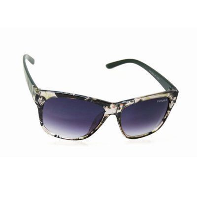 Dámske slnečné okuliare Marilyn priehľadné / čierne