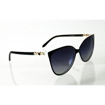 Dámske polarizačné okulia Diamond BLACK&WHITE