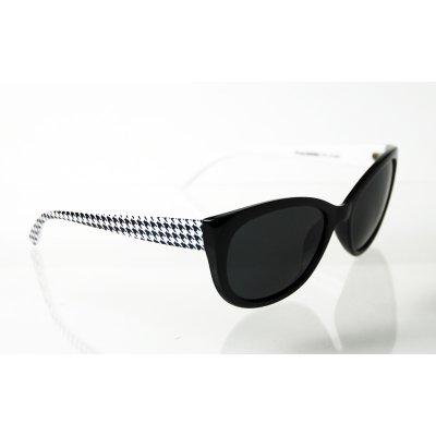 Dámske polarizačné okuliare Bat black&white BLACK