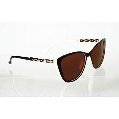 Dámske polarizačné okuliare Chain BROWN