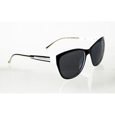 Dámske polarizačné okuliare Diamonds Line WHITE&BLACK