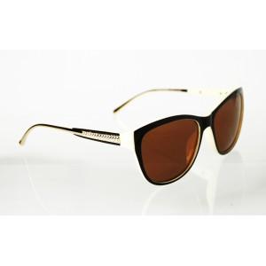 Dámske polarizačné okuliare Diamonds Line WHITE&BROWN