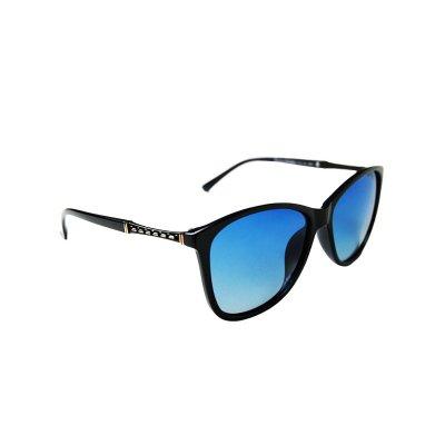 Dámske polarizačné okuliare gold LINE black BLUE