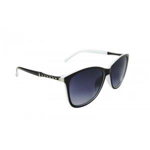 Dámske polarizačné okuliare gold LINE black&white BLACK