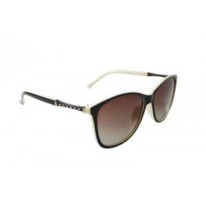 Dámske polarizačné okuliare gold LINE brown&white BROWN