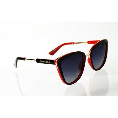 Dámske Polarizačné Okuliare Panter Red