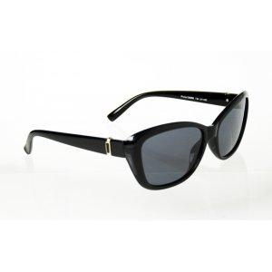 Dámske polarizačné okuliare Square Gold BLACK