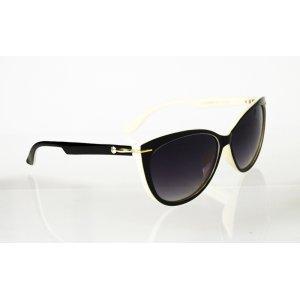 Dámske polarizačné slnečné okuliare Gold Globe BLACK