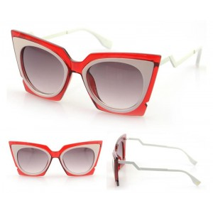 Dámske slnečné okuliare Milano červené