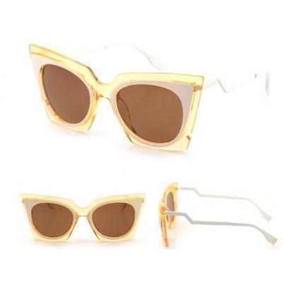 Dámske slnečné okuliare Milano žlté