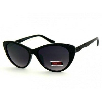 Dámske slnečné okuliare ALLY RETRO BLACK