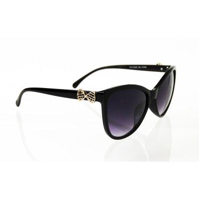 Dámske slnečné okuliare Bow BLACK