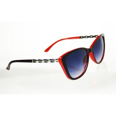 Dámske slnečné okuliare Chain BLACK&RED