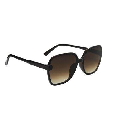 Dámske slnečné okuliare Clasc Big Look BROWN