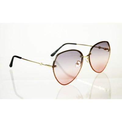 Dámske slnečné okuliare Crystal Ligot pink GOLD