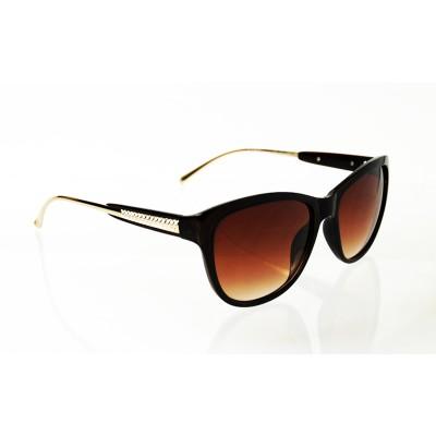 Dámske slnečné okuliare Diamond Style BROWN