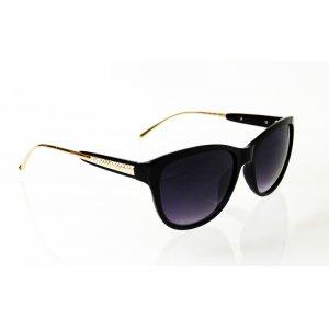 Dámske slnečné okuliare Diamond Style Gold BLACK