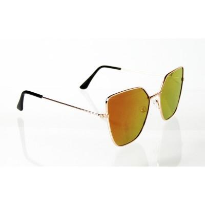 Dámske slnečné okuliare Edges gold PINK