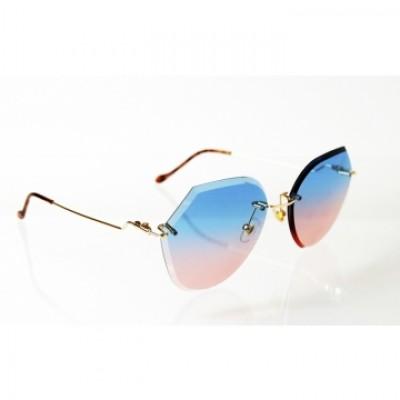 Dámske slnečné okuliare Exclusive Crystal BLUE&PINK