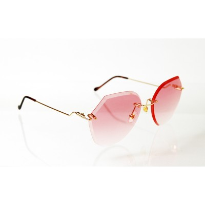Dámske slnečné okuliare Exclusive Crystal PINK