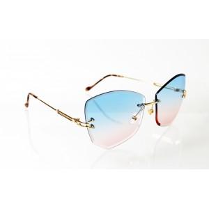 Dámske slnečné okuliare Glass Diamond BLUE&PINK