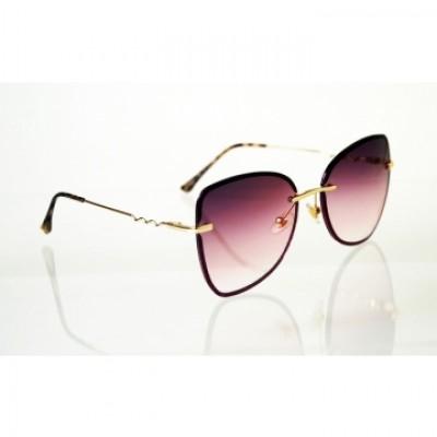 Dámske slnečné okuliare Glass Glitter BLACK&PINK