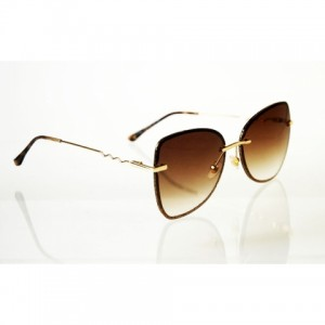 Dámske slnečné okuliare Glass Glitter BROWN