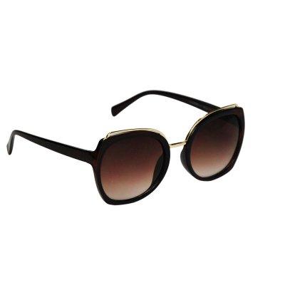 Dámske slnečné okuliare Gold Cat Line BROWN